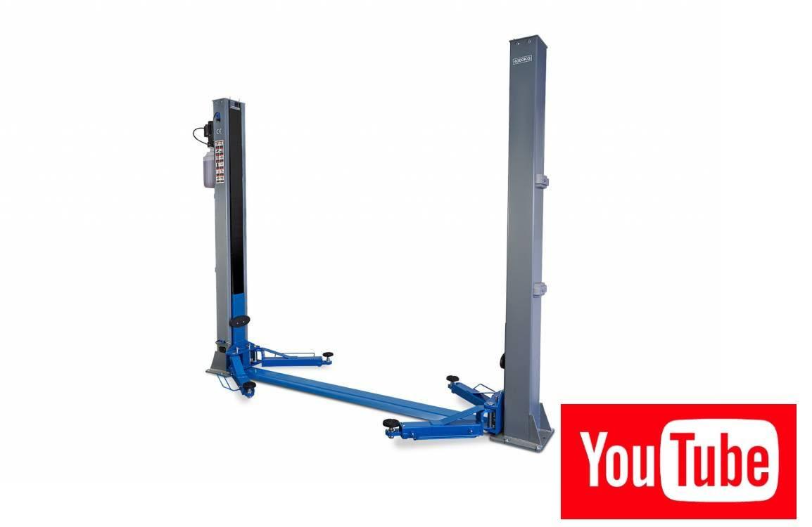 2 Koloms hydraulische Hefbrug 4 ton Volautomatisch