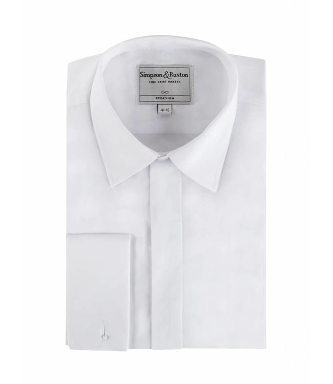Smokingshirt kent collar