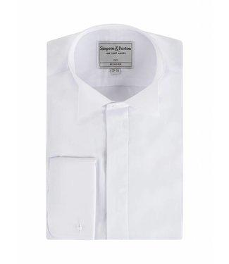 Smokingshirt wing collar