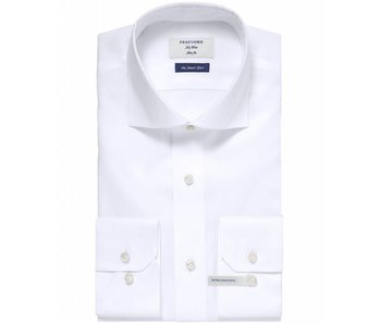 Profuomo Shirt White pinpoint oxford smart extra long sleeve