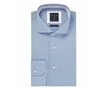 Profuomo Blue oxford check overhemd