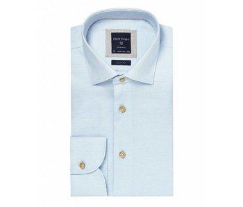 Profuomo Lichtblauw mouliné shirt
