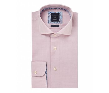 Profuomo Rood oxford shirt