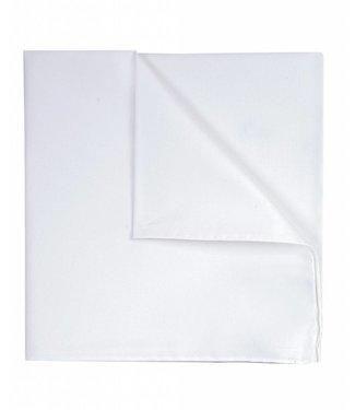 Profuomo Wit koninklijk twill katoen pochet
