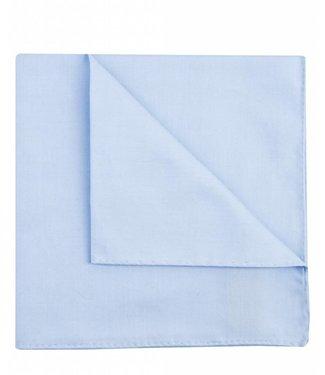 Profuomo Blauw koninklijk twill katoen pochet