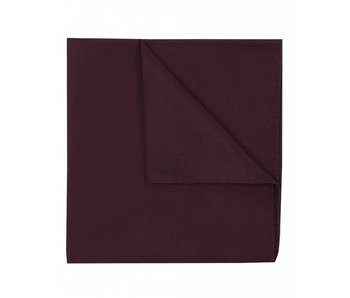 Profuomo Bordeaux rode oxford zijden pochet