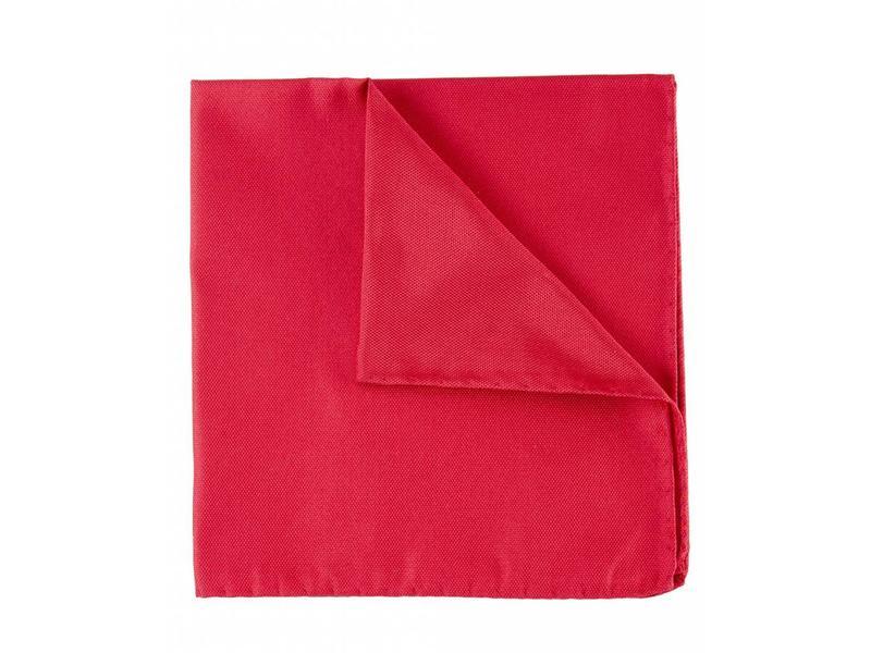 Profuomo Rode oxford zijden pochet