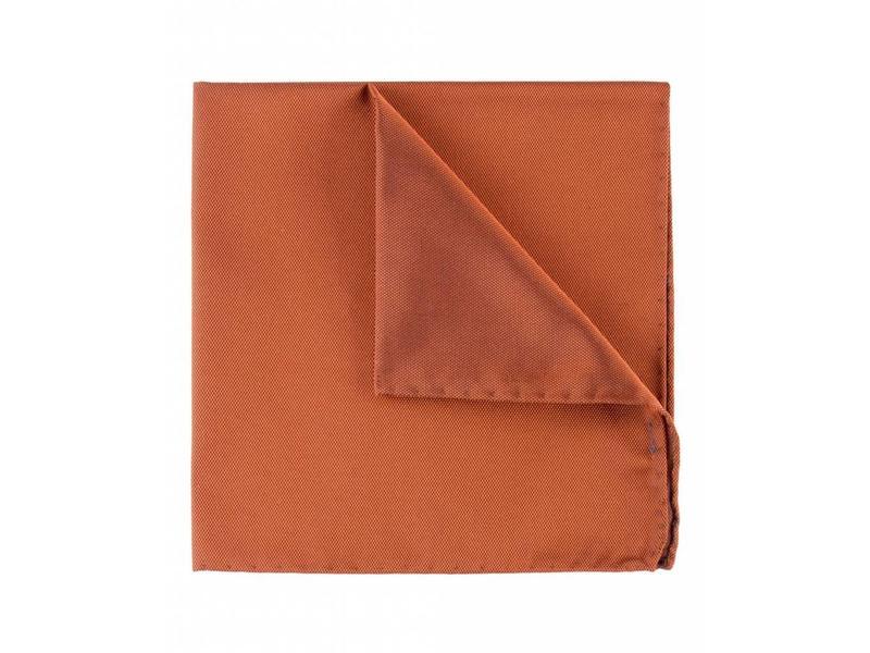 Profuomo Oranje oxford zijden pochet