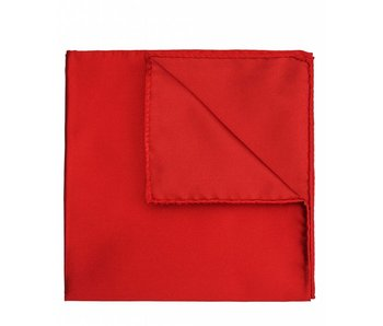 Profuomo Rood satijnen pochet