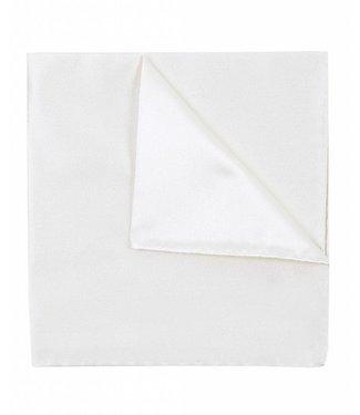 Profuomo Off-white koninklijke satijnen pochet