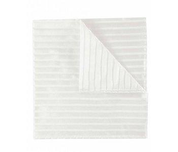 Profuomo Huwelijks pochet gebroken wit zijde