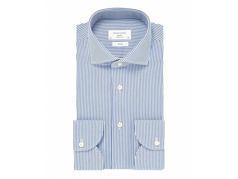 Profuomo De ultieme reis shirt streep blauw