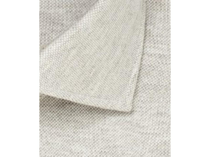 Profuomo Beige mélange knitted shirt