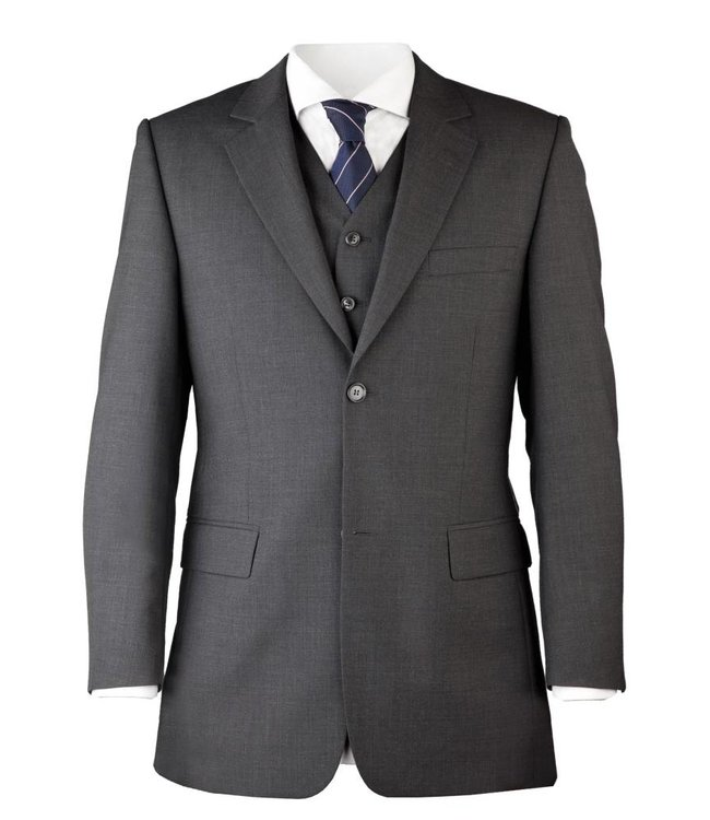 Suit for Work 2-delig Antraciet