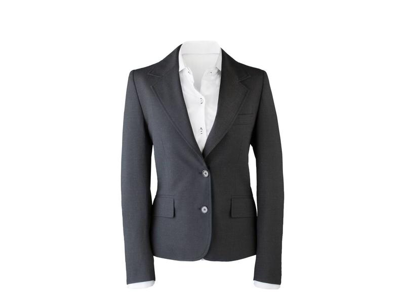 Suit for Work Ladies 3-delig Antraciet met pantalon