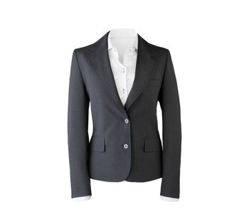 Suit for Work Ladies 2-delig antraciet met pantalon