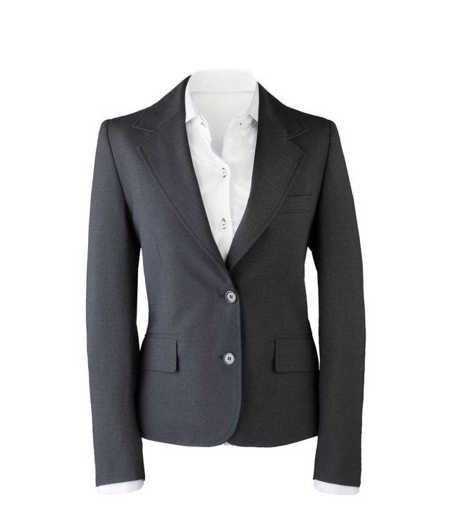 Suit for Work Ladies 2-delig antraciet met pantalon