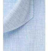 Profuomo Blauw linnen overhemd