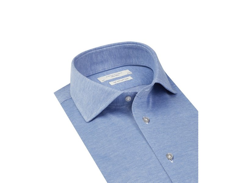 Profuomo Blue Sky blue knitted shirt
