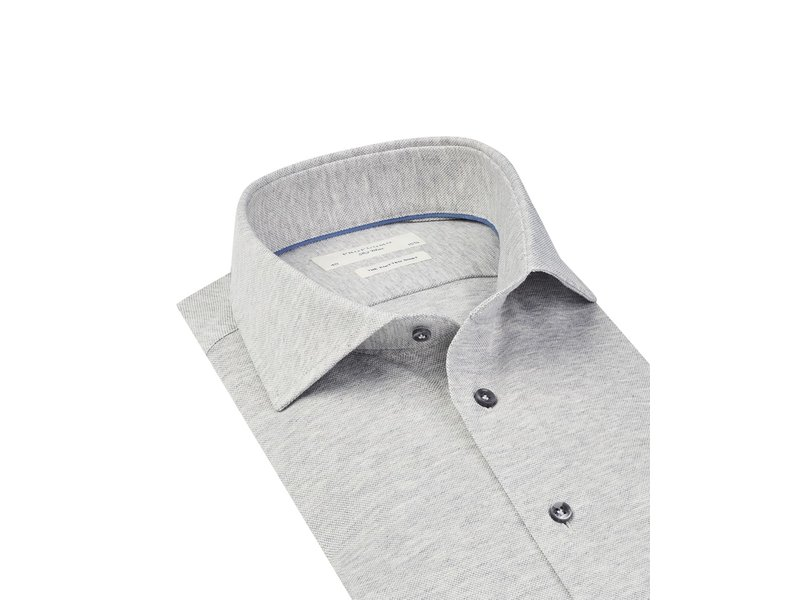 Profuomo Grey Sky Blue knitted shirt