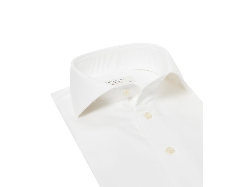 Profuomo The ultimate travel shirt White