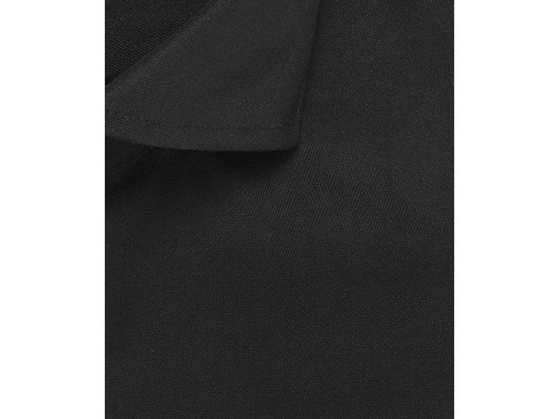 Profuomo Black fine twill cotton shirt