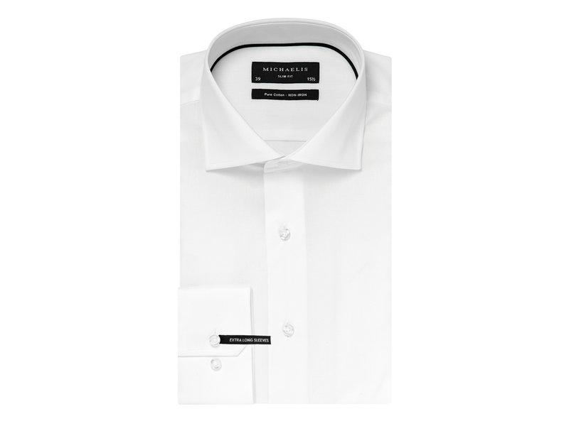Wit twill shirt XLS