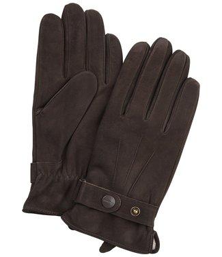 Profuomo Glove Brown leather nubuck
