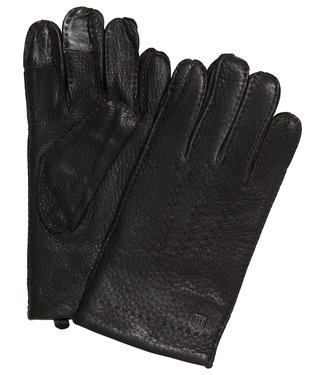 Profuomo Glove Brown deer leather