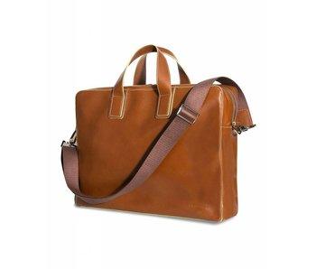 Profuomo Business bag cognac