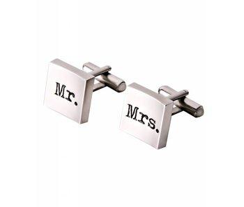 Profuomo Mr & Mrs cufflinks