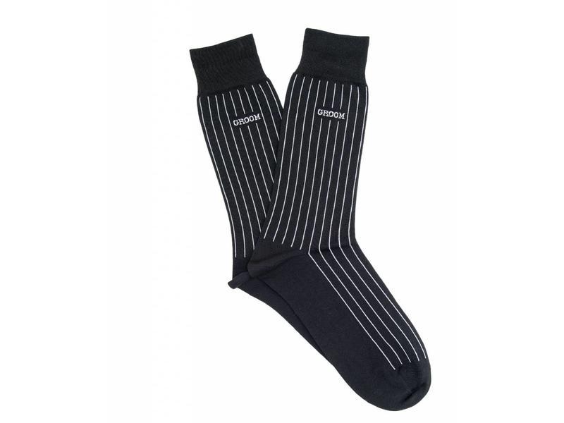 Profuomo Groom anthra gemerceriseerde sokken