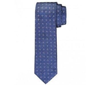 Profuomo Navy woven silk tie