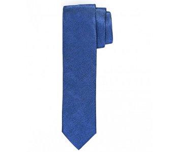 Profuomo Royal melange skinny silk tie