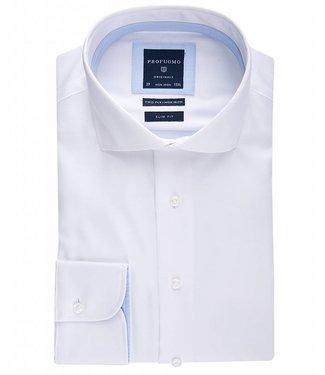 Profuomo Shirt White non iron slim fit