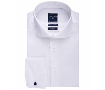 Profuomo Originale white non iron slim fit