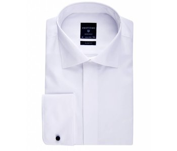 Profuomo Originale white smoking shirt non iron