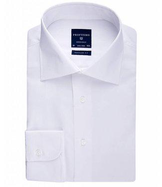Profuomo Originale white widespread collar regular fit