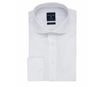 Profuomo Originale white cutaway collar slim fit