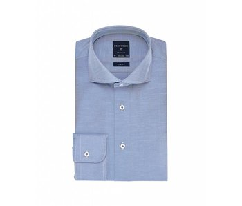 Profuomo Originale mid blue cutaway collar slim fit