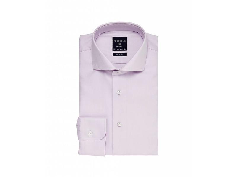 Profuomo Originale Lila shirt cutaway collar