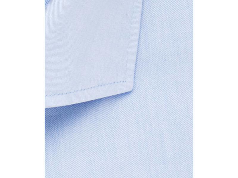 Profuomo Sky blue slim fit blue shirt single cuff cutaway collar