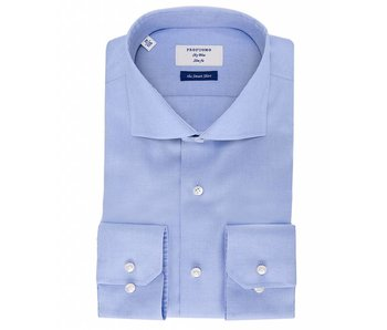 Profuomo Sky blue pinpoint oxford smart blue shirt