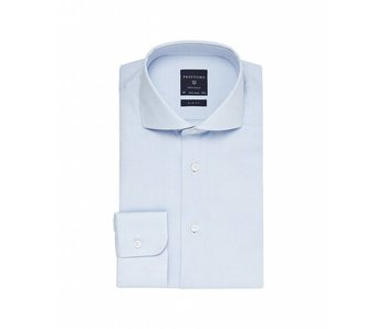 Profuomo Originale blue slim fit cutaway collar