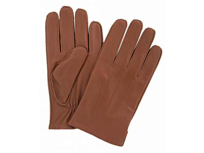 Profuomo Glove Cognac nappa leather