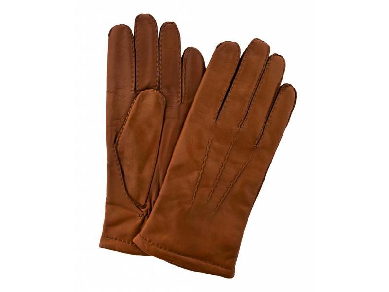 Profuomo Glove Cognac nappa leather