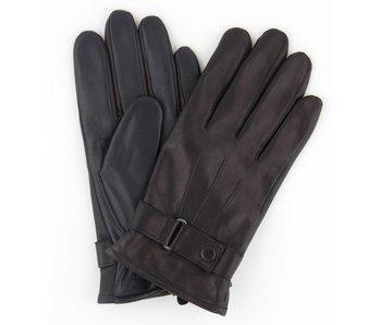 Profuomo Glove Black touchscreen leather