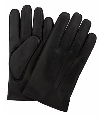 Profuomo Glove Black nappa leather