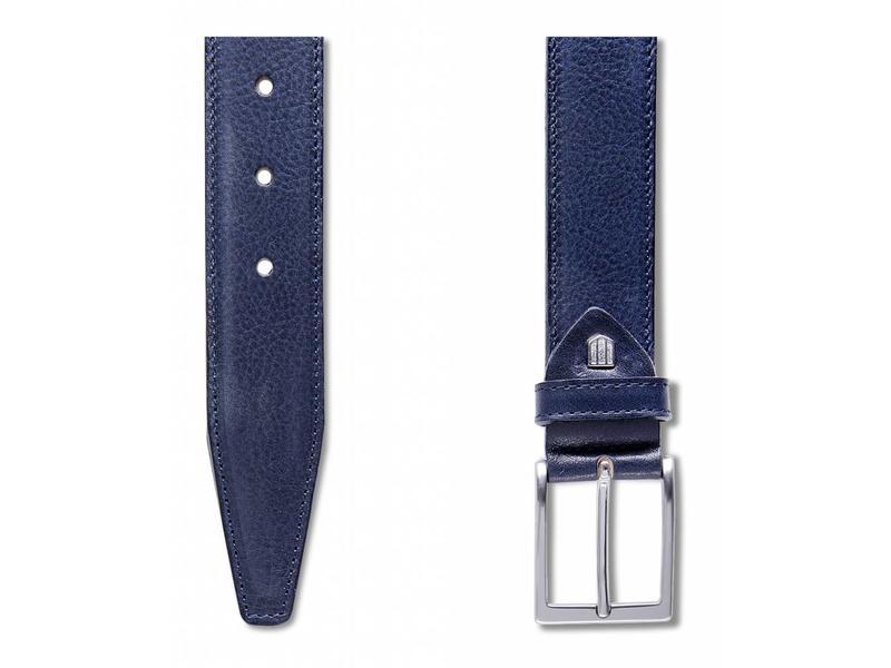 Profuomo Belt Calf Leather Blu