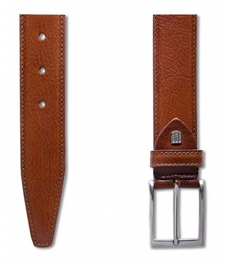 Profuomo Belt Calf Leather Cognac